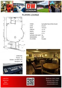 Players Lounge Insert