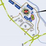 DW Stadium Location Map - Mini Version