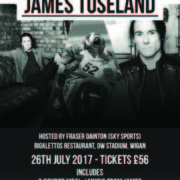 An Evening with James Toseland Poster