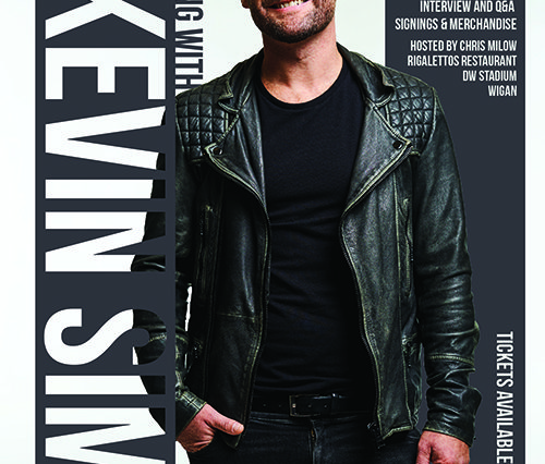 An evening with Kevin Simm