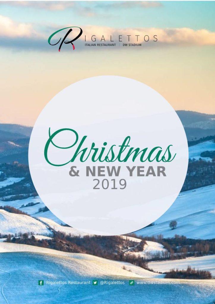 Rigalettos Christmas Brochure 2019